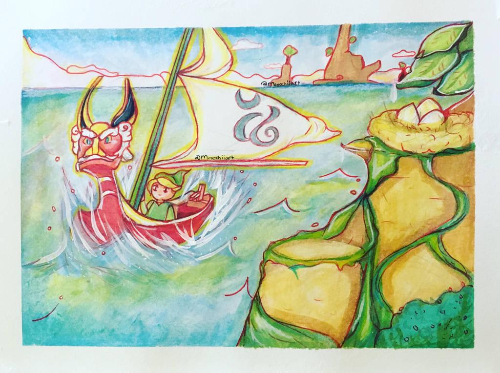 Dragon Roost Island by Mooochiiart