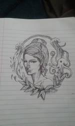 Water Doodle by PinsXNeedles