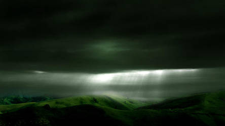 Stormy Hills STOCK by wyldraven