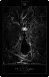 Black Metal Tarot 6 by wyldraven
