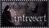 Introvert stamp by wyldraven