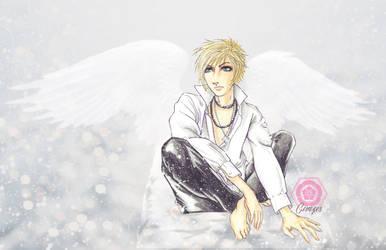 Angel by cerezosdecamus