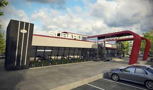 Subaru Auto Show, view 2 by doubleagent2005