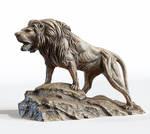 Lion sculpture by doubleagent2005