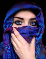 Blue eyes by amatiele