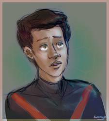 Miles Sketch by SunnyUra