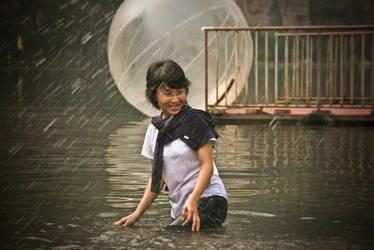 Lady Rain by clarkenno