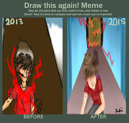Draw this again MeMe! by adrianerkul