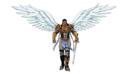 welcome Zac  Archangel of wisdom by MemorialComics