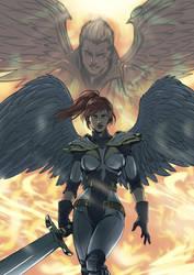 The kingdom of God: Volume 3 cover by MemorialComics