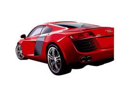 Audi R8 by waranabatokwa