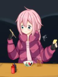 Nadeshiko's Dinner by maxibillity