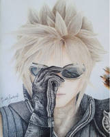 Cloud Strife - FFVII Advent Children by EdithSandoval