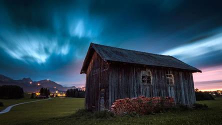 Blue in Bavaria by Cormocodran15
