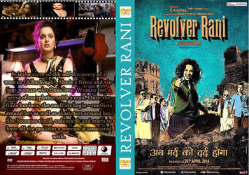 Revolver Rani HIndi Movie DVD Cover by santoshempire