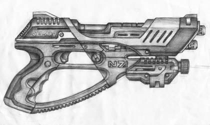Heavy pistol Gepard N7 by KoshaKN7