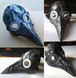 Plague doctor mask by KoshaKN7