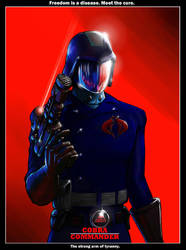 Cobra Commander Movie Poster by botmaster2005