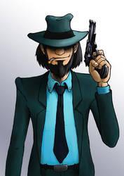 Jigen The Shooter by botmaster2005