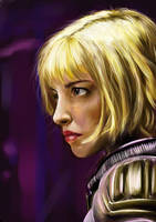 Olivia Thirlby as Judge Anderson by botmaster2005