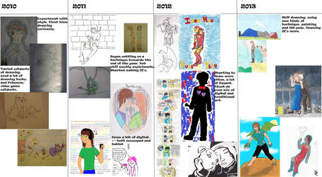Drawing Progress 2010-2013 by spock-lover