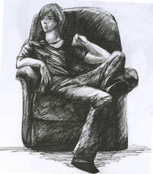 Sitting by naeomi-chan