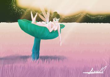 Mushroom Fairy by xArcox