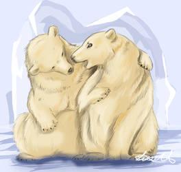 Polarbears by xArcox