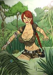 Run through the jungle by PatrickS-Artist