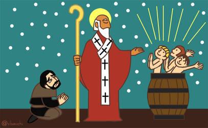Saint Nicholas by Sibauchi