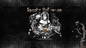 Spooky Halloween Wallpaper by KiyaSama