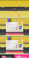 +dklicious_Portfolio Layout. by cc-Designs