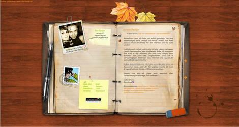 Dear Dear Diary by gedankenparanoid