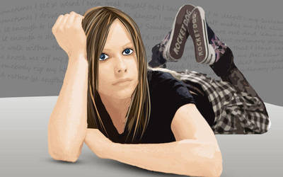 Avril Lavigne by gedankenparanoid