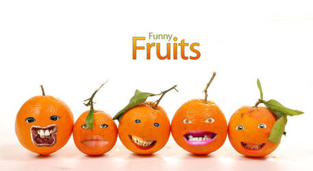 Funny Fruits by gedankenparanoid