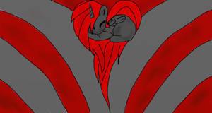 HellFire, love by IronWolfX3