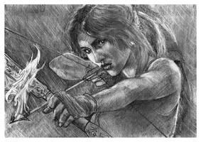 Lara Croft Tombraider by nev777