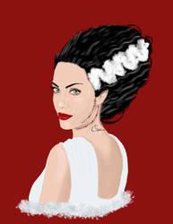 Bride of Frankenstein by Orphen5