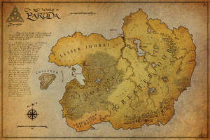 The Lost World Paruda - Map by jocarra
