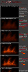Jocarra's CG Fire Tutorial by jocarra