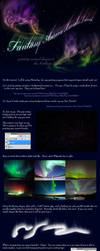 Fantasy Aurora Borealis Tutorial by jocarra