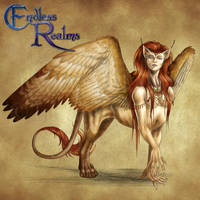 Endless Realms bestiary - Sphinx by jocarra