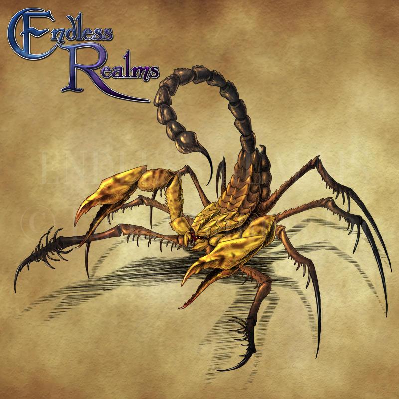 Shrike Scorpion By Jocarra On