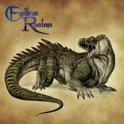 Endless Realms bestiary - Ferrovore by jocarra