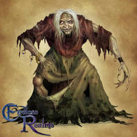 Endless Realms bestiary - Hag by jocarra