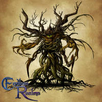 Endless Realms bestiary - Corrupt Forest Spirit by jocarra