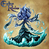 Endless Realms bestiary - Corrupt Water Spirit by jocarra