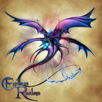 Endless Realms bestiary - Psionic Dragon by jocarra