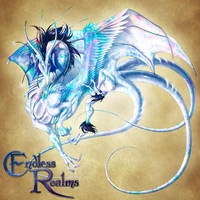 Endless Realms bestiary - Opal Dragon by jocarra