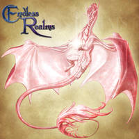 Endless Realms bestiary - Rose Quartz Dragon by jocarra